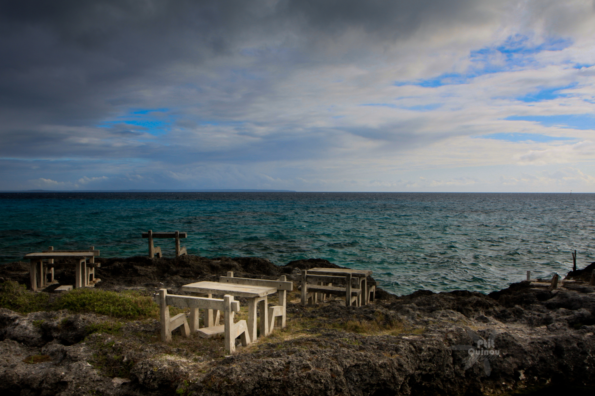 Les tables de Lifou